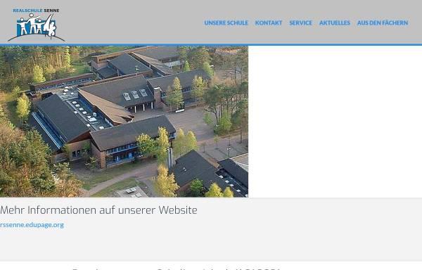 Vorschau von realschule-senne.de, Realschule Senne