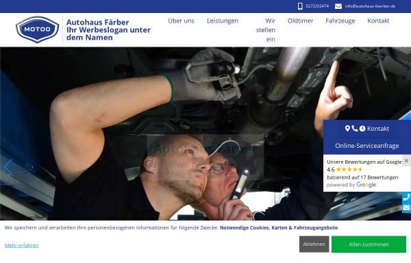 Vorschau von www.autohaus-faerber.de, Autohaus Färber
