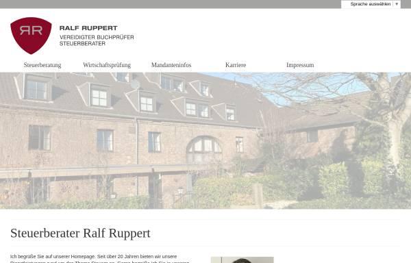 Vorschau von www.steuerberater-ruppert.de, Steuerberater Ralf Ruppert