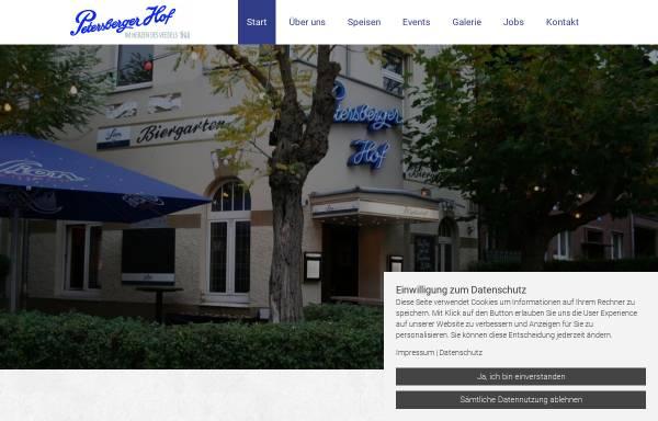 Vorschau von www.p-hof.de, Petersberger Hof