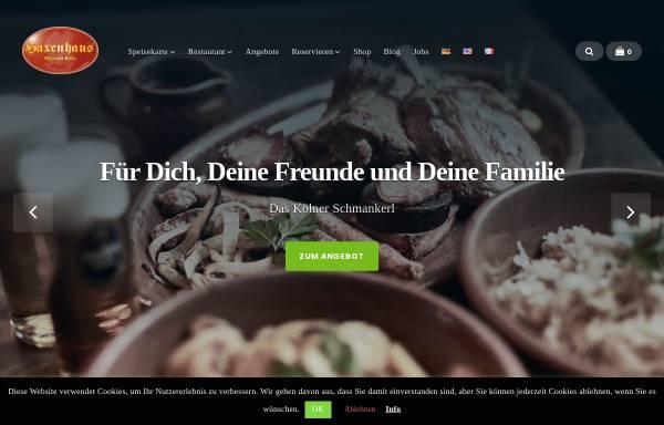Vorschau von www.haxenhaus.de, Haxenhaus zum Rheingarten