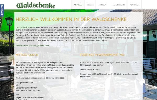 Waldschenke: Restaurants und Gasthäuser, Essen und Trinken ...