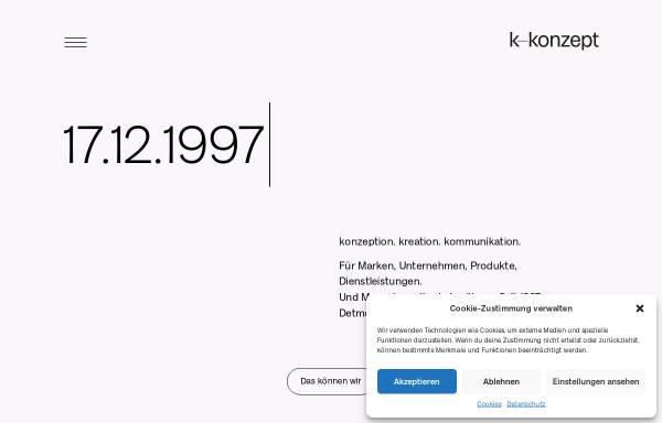 Vorschau von www.k-konzept.de, K-Konzept