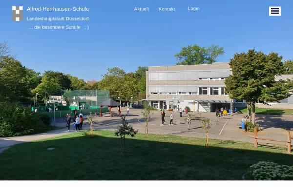 Vorschau von www.alfred-herrhausen-schule.de, Alfred-Herrhausen-Schule (Carl-Friedrich-Goerdeler-Straße)
