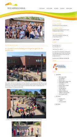 Vorschau der mobilen Webseite www.wichernschule-duesseldorf.de, Wichernschule (Brorsstraße)