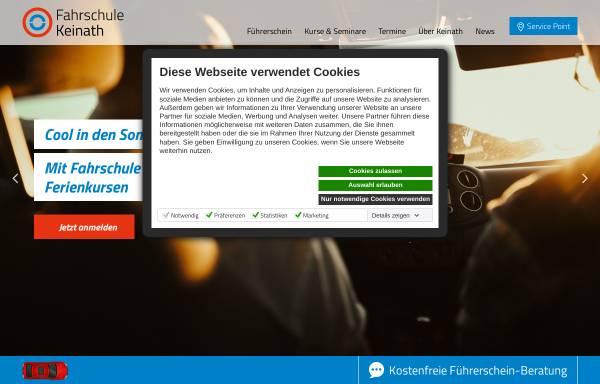 Vorschau von www.fahrschule-keinath.de, Fahrschule Keinath