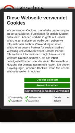 Vorschau der mobilen Webseite www.fahrschule-keinath.de, Fahrschule Keinath