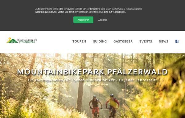 Vorschau von www.mountainbikepark-pfaelzerwald.de, Mountainbikepark Pfälzerwald