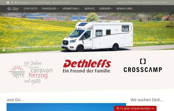 Vorschau von www.campingherzog.de, Reisemobil-Caravan Herzog OHG