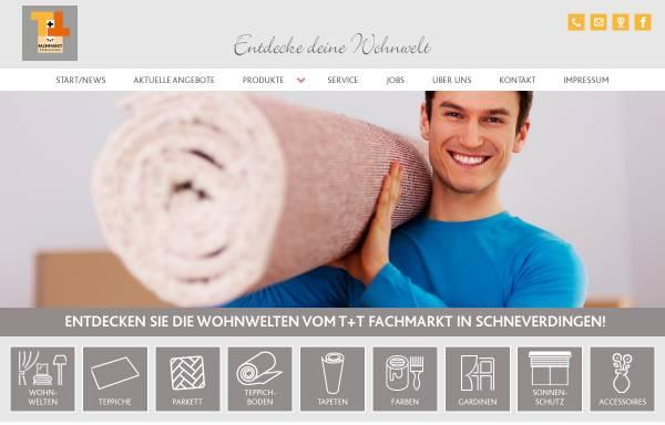 Vorschau von www.tt-fachmarkt.de, T+T Fachmarkt Christiansen