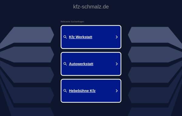 Vorschau von www.kfz-schmalz.de, Kfz-Meisterbetrieb Armin Schmalz