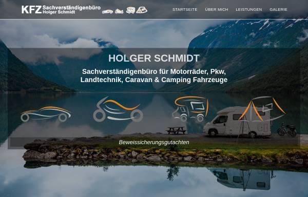 Vorschau von www.svb-schmidt.de, Kfz-Sachverständigenbüro Schmidt