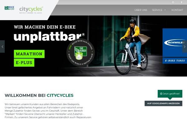 Vorschau von www.citycycles.de, City Cycles