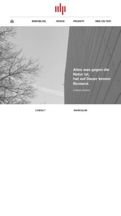 Vorschau der mobilen Webseite www.idp-online.de, Idp-Architekten