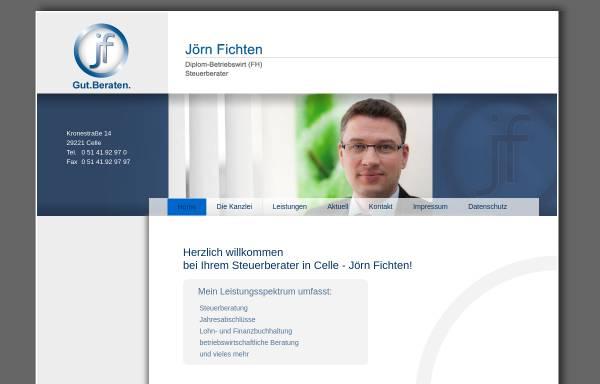 Vorschau von www.stb-fichten.de, Steuerberater Peter Fichten