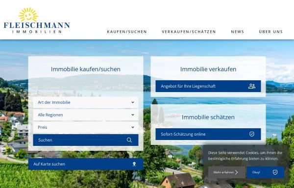 Vorschau von www.fleischmann.ch, Fleischmann AG