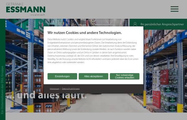 Getränke Essmann KG in Lingen: Handel, Wirtschaft getraenke-essmann.de