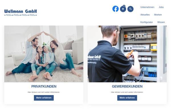 Vorschau von www.wellmanngmbh.de, Wellmann GmbH