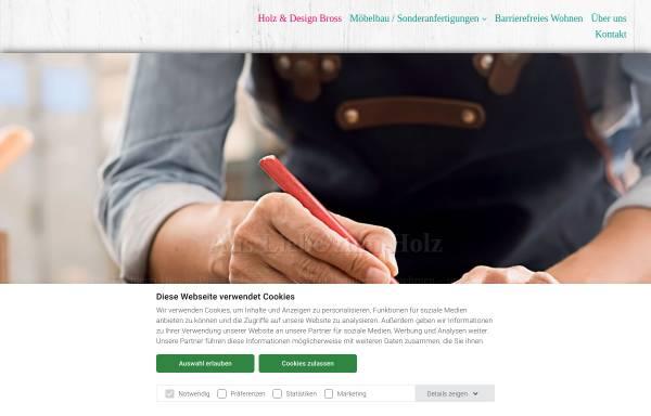 vorschau von www bross online de hergen bross holz design