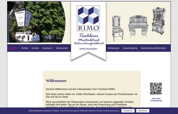 Vorschau von www.rimo-online.de, Tischlerei RIMO