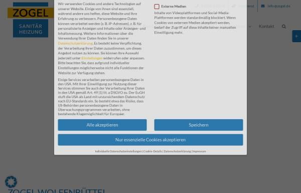 Vorschau von www.zogel.de, Zogel GmbH