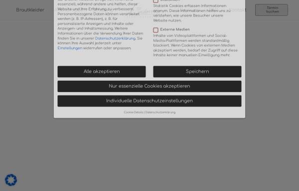 Vorschau von www.cinderella-brautmoden.de, Cinderella Brautmoden
