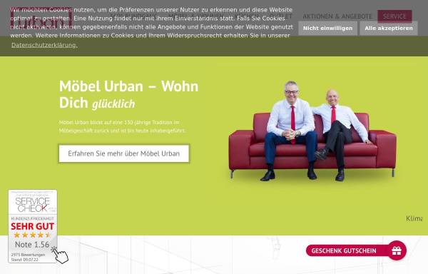 Vorschau von www.moebel-urban.de, Möbel Urban