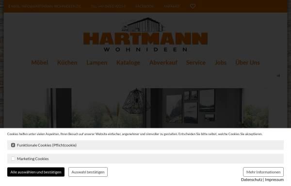 Hartmann Wohnideen GmbH & Co. KG: Möbel und Inneneinrichtung ...