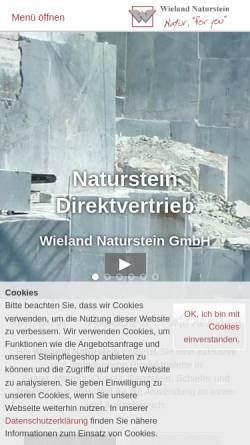 Wieland Naturstein wieland naturstein gmbh bauwesen wirtschaft wieland naturstein de