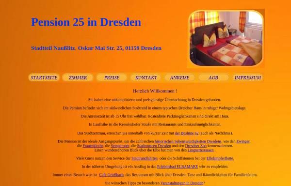 Vorschau von www.dresden-pension-nausslitz.de, Pension Naußlitz