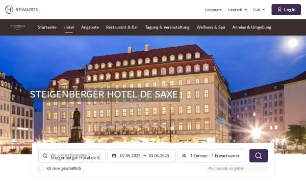 Vorschau von www.steigenberger.com, Steigenberger Parkhotel