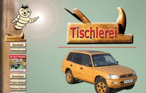 Vorschau von www.holzfahrzeuge-1.de, Tischlerei und Holzdesign Lutz Weissbach