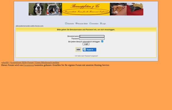 Vorschau von alleszubernerundco.aktiv-forum.com, Alles zu Berner und Co.