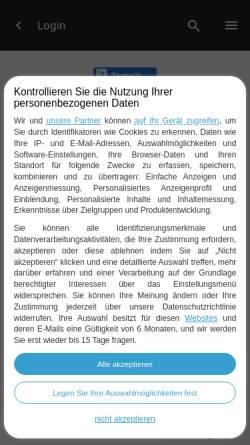 Vorschau der mobilen Webseite alleszubernerundco.aktiv-forum.com, Alles zu Berner und Co.