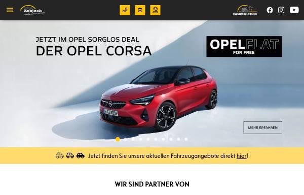 Vorschau von www.autohauszobjack.de, Autohaus Zobjack GmbH