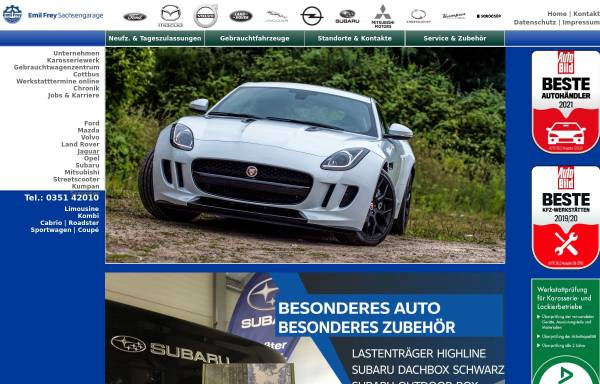 Vorschau von www.jaguar-dresden.de, Jaguar House