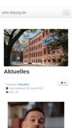 Whs Leipzig werner heisenberg schule gymnasien schulen whs leipzig de