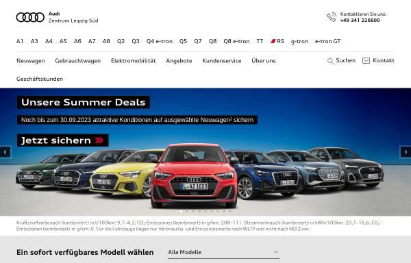 Vorschau von www.audizentrumleipzig.de, Audi Zentrum Leipzig Süd
