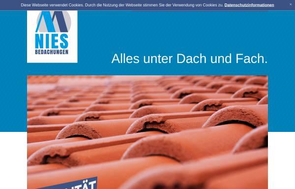 Vorschau von www.nies-bedachung.de, Meinolf Nies, Dachdeckermeister