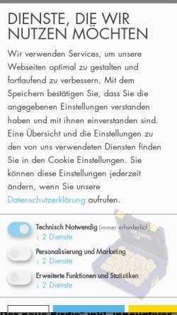 Vorschau der mobilen Webseite www.gesipa.com, GESIPA Blindniettechnik GmbH