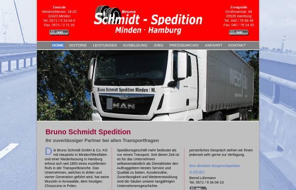 Vorschau von www.bruno-schmidt.de, Bruno Schmidt GmbH & Co. KG
