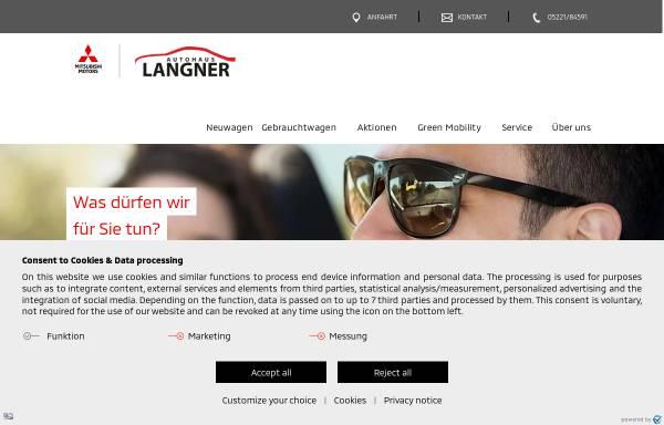 Vorschau von www.langner-herford.de, Autohaus Langner