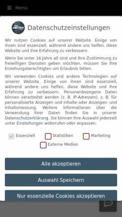 Vorschau der mobilen Webseite www.autohaus-rosenhaeger.de, Autohaus Rosenhäger