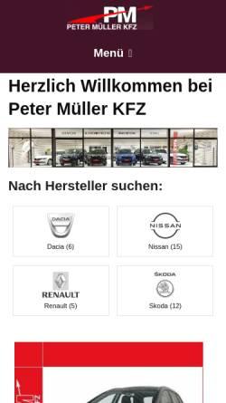 Vorschau der mobilen Webseite www.euro-car.de, Autohaus Rumpold GmbH