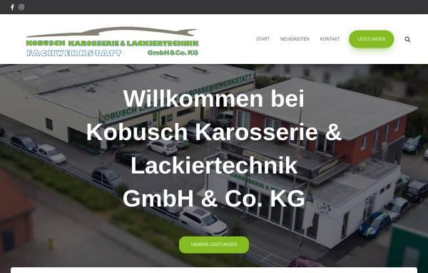 Vorschau von www.kobuschdesign.de, Kobusch Lackiertechnik GmbH & Co KG