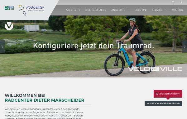 Vorschau von www.radcenter-dm.de, RadCenter Dieter Marscheider