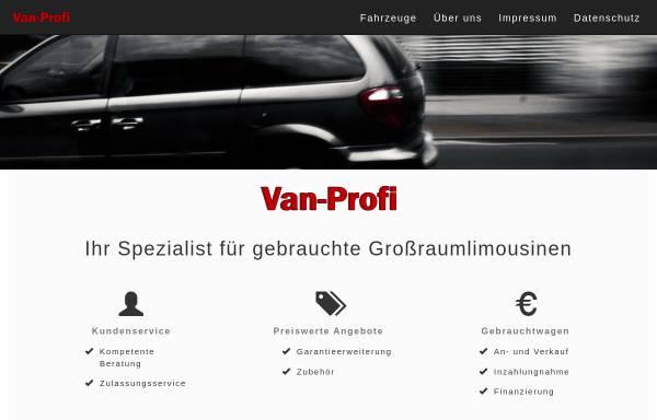 Vorschau von www.van-profi.de, Van-Profi Hans-Jürgen Mothes