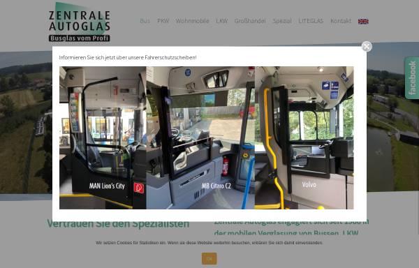 Vorschau von www.zentrale-autoglas.de, Zentrale Autoglas GmbH