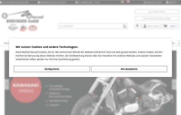 Vorschau von www.motorrad-burchard.de, Motorrad Burchard GmbH