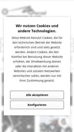 Vorschau der mobilen Webseite www.motorrad-burchard.de, Motorrad Burchard GmbH